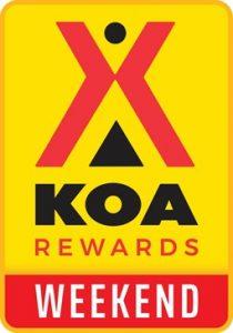 hot deal koa rewards weekend